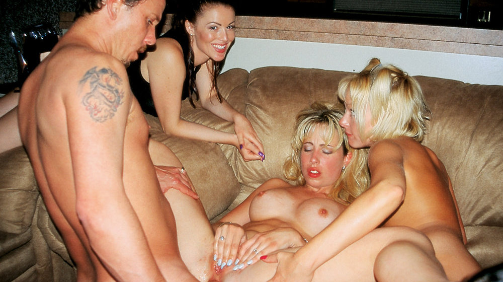 Alisha Klass & Samantha Stylle & Sadie Grace in Strip Club