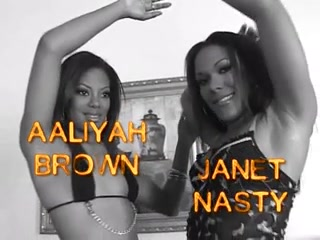 Freak Nasty 2 - Scene 1 Aaliyah Brown & Janet Nasty