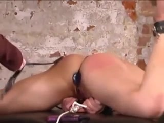 A Spanking And Some Toys Make Her Cum