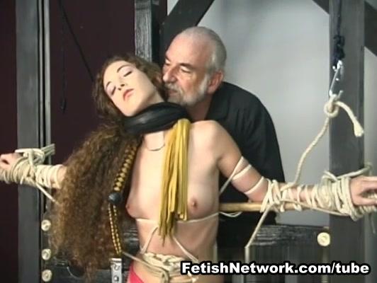 FetishNetwork Video: Nicole Flogged And Skewered