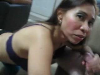 Messy Oriental Granny