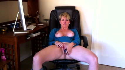 Funlady blonde and banged hard from behind 1
