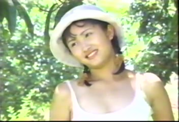 Vintage Japanese outdoor photoshoot