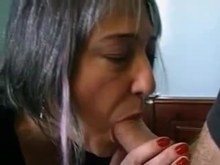 Pierced french mature nailed in pussy and ass