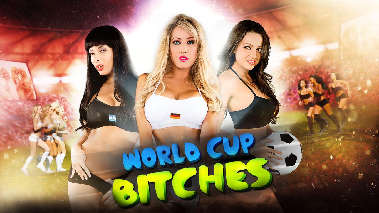 Anissa Kate, Capri Cavanni, Jamie Stone & Ryan Driller  in World Cup Bitches